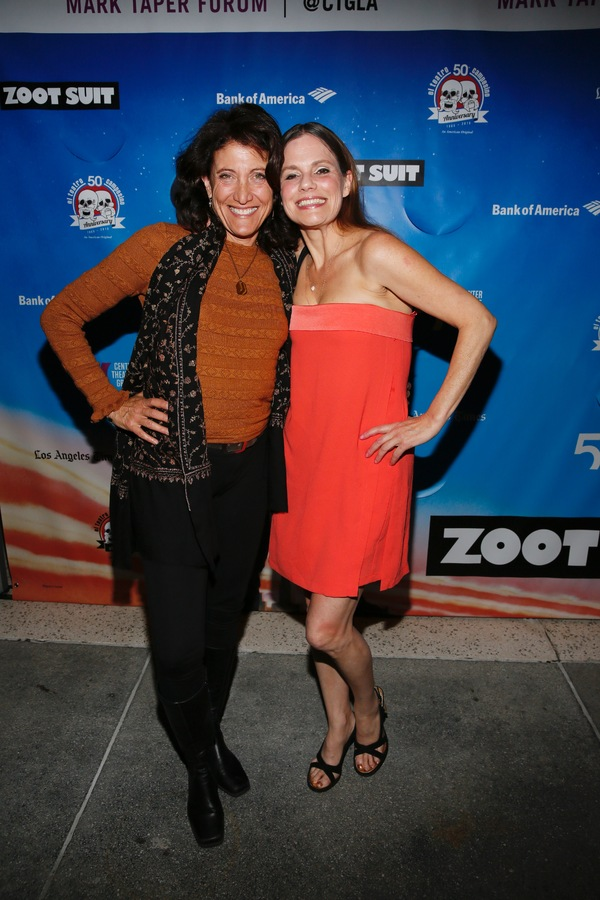 Actors Amy Aquino and Suzanne Cryer