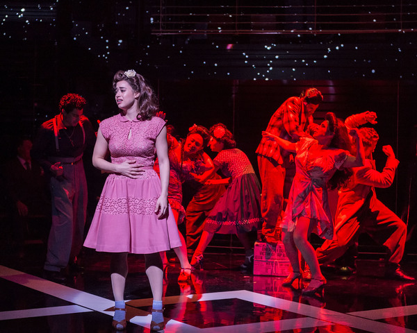 Jeanine Mason and the cast of the revival of ZOOT SUIT