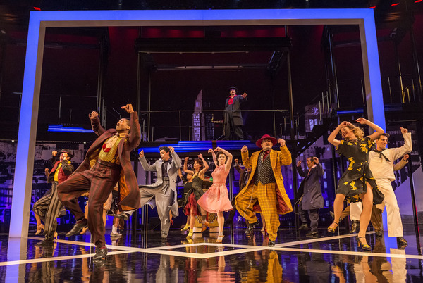 Photo Flash: First Look at Twice-Extended ZOOT SUIT Revival at the Taper