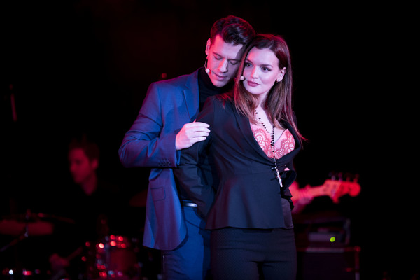 Photo Flash: First Look - Sexy Shots of Jennifer Damiano, Constantine Rousouli and More in CRUEL INTENTIONS: THE MUSICAL in NYC