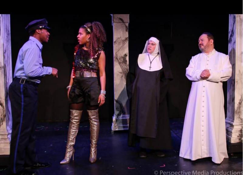 bww review sister act at haddonfield plays and players