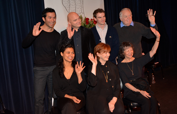 Carman Lacivita, Michael Cerveris, Jay Armstrong Johnson, Dakin Matthews, Jolly Abraham, Blair Brown and Maggie Buchwald