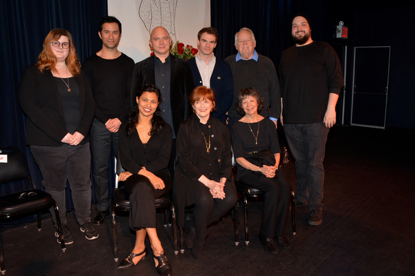 Carman Lacivita, Michael Cerveris, Jay Armstrong Johnson, Dakin Matthews, Jolly Abraham, Blair Brown and Maggie Buchwald and joined by Stage Managers Jack Cummins and Katie Meade