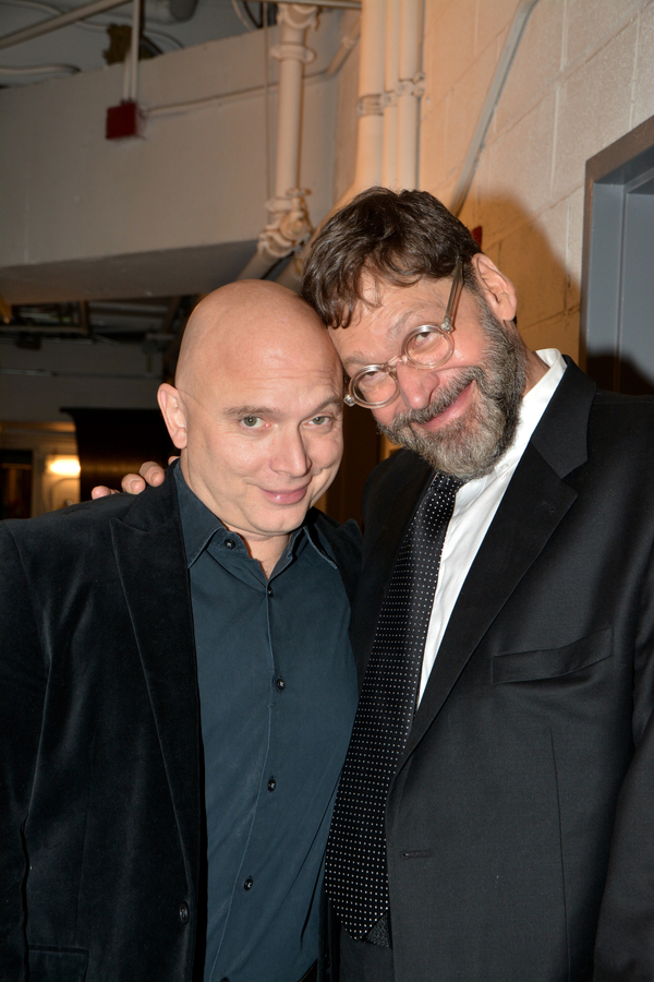Michael Cerveris and David Staller
