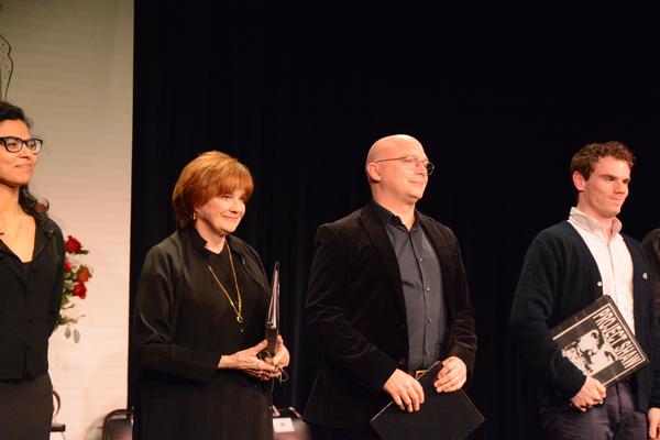 Jolly Abraham, Blair Brown, Michael Ceveris and Jay Armstrong Johnson