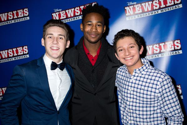 Nicholas Masson, Jordan Samuels, Jonathan Fenton Photo