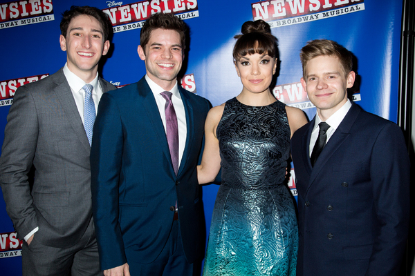Photo Coverage: Extra! Extra! NEWSIES Casts Unite to Celebrate Film Premiere