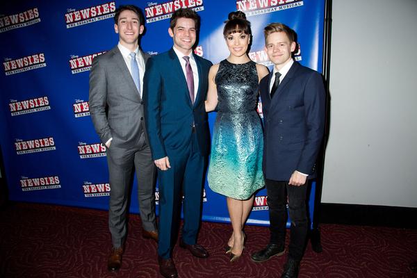 Ben Fankhauser, Jeremy Jordan, Kara Lindsay, Andrew Keenan-Bolger Photo