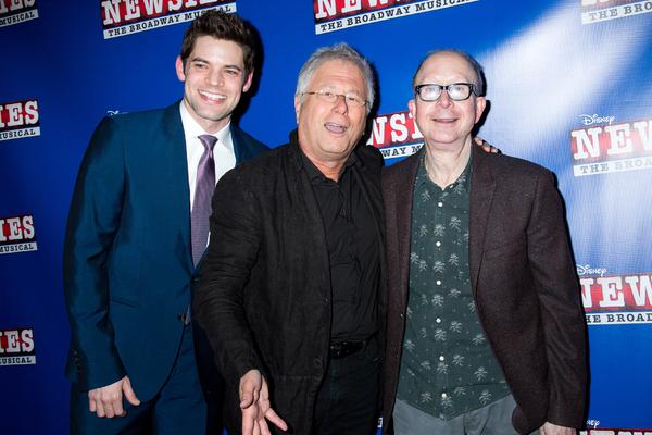 Jeremy Jordan, Alan Menken, Jack Feldman