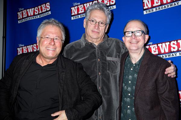 Alan Menken, Harvey Fierstein, Jack Feldman