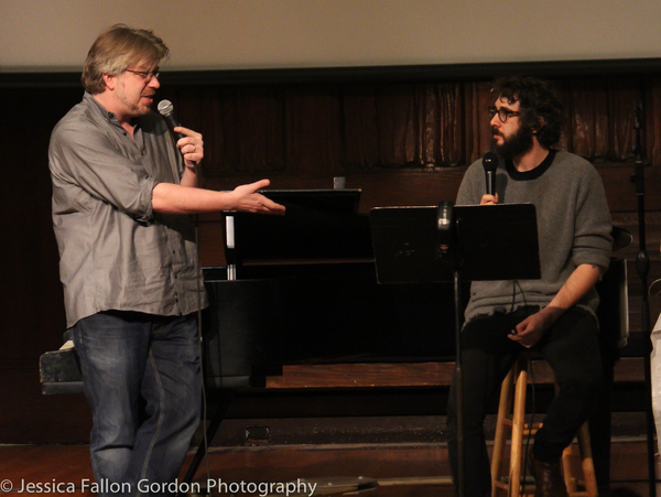Dave Malloy and Josh Groban