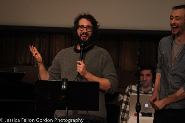Josh Groban and Alex Gibson