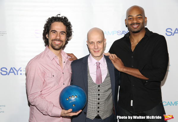 Alex Lacamoire, Taro Alexander and Brandon Victor Dixon