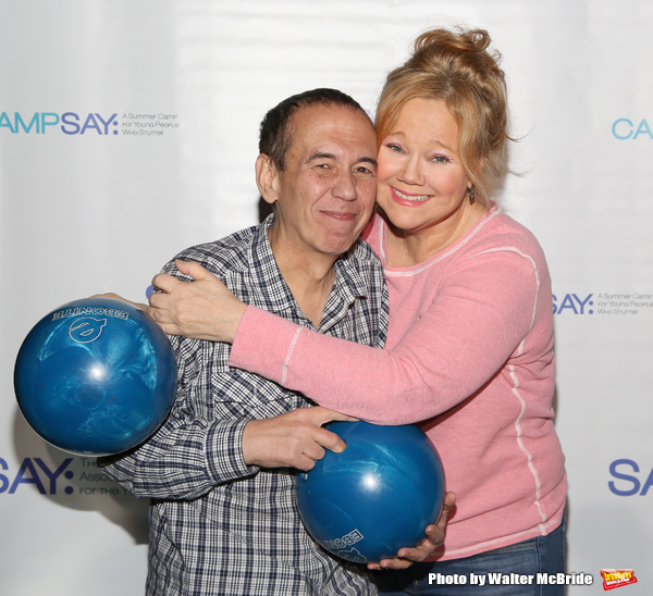 Gilbert Gottfried and Caroline Rhea