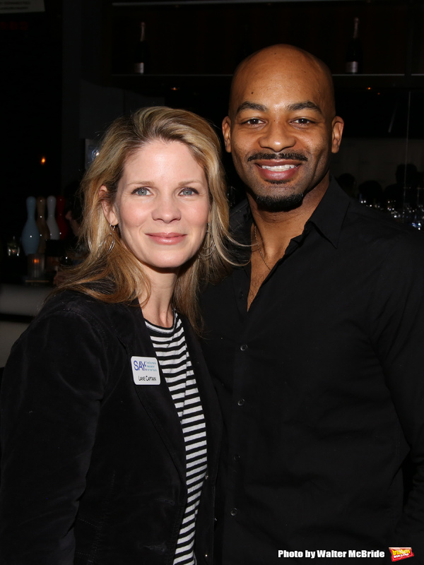 Kelli O'Hara and Brandon Victor Dixon