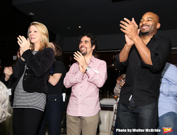 Kelli O'Hara, Alex Lacamoire and Brandon Victor Dixon