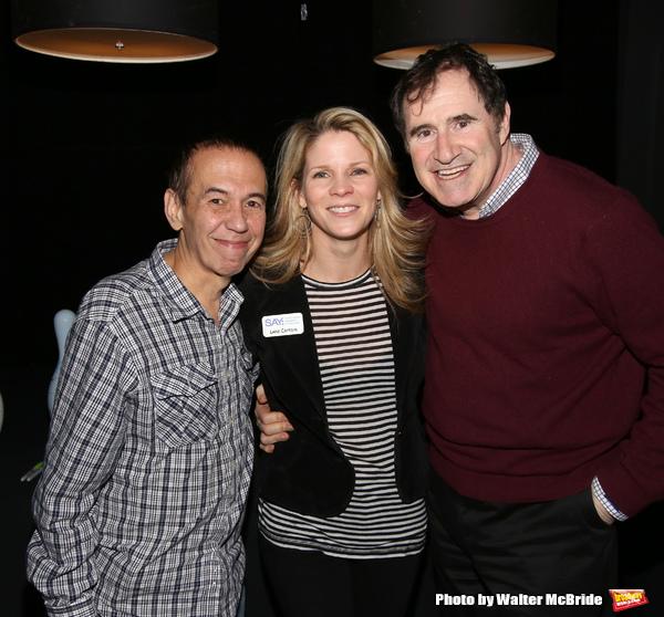 Gilbert Gottfried, Kelli O'Hara, Richard Kind