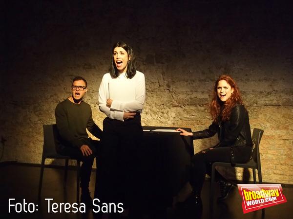 Adrian Rodriguez, Paula Berenguer y Lucia Torres