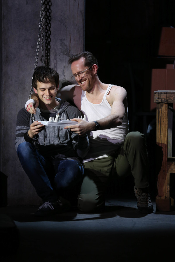 Brandon Flynn and Jeffry Denman