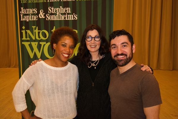 Eleasha Gamble and Javier Ignacio with Joanna Gleason