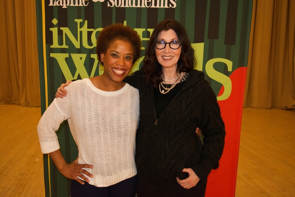 Eleasha Gamble with Joanna Gleason