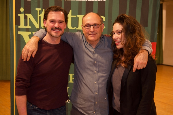 Fred Rose and Bonne Kramer with James Lapine Photo