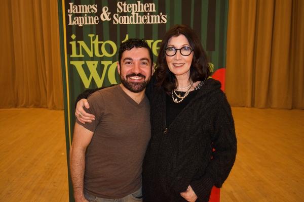 Javier Ignacio with Joanna Gleason Photo