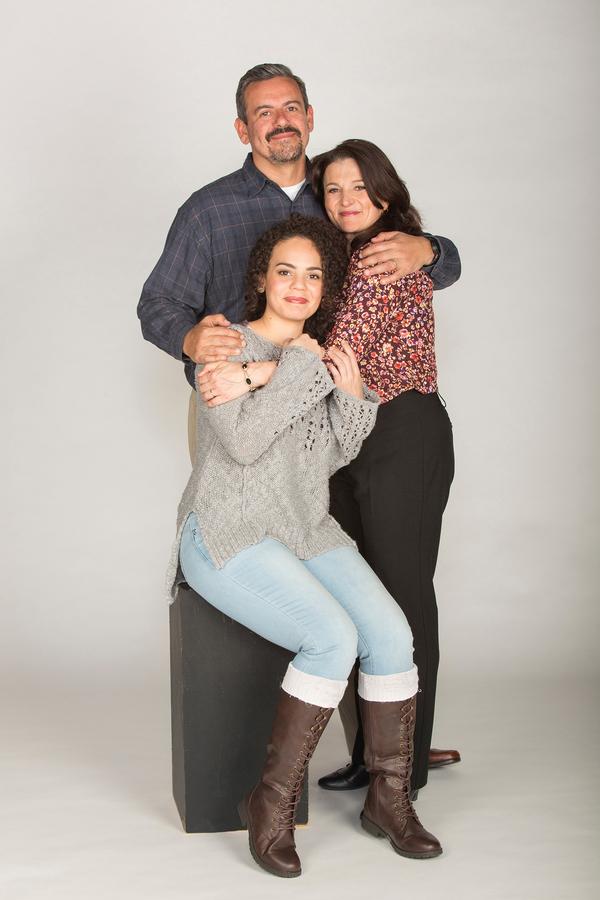 Frank Pando, Antoinette LaVecchia and Nataysha Rey