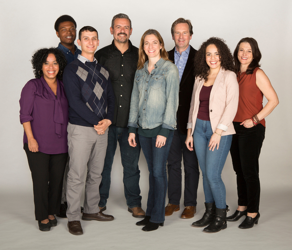 The cast of the world premiere of THE BLAMELESS with playright Nick Gandiello and dir Photo