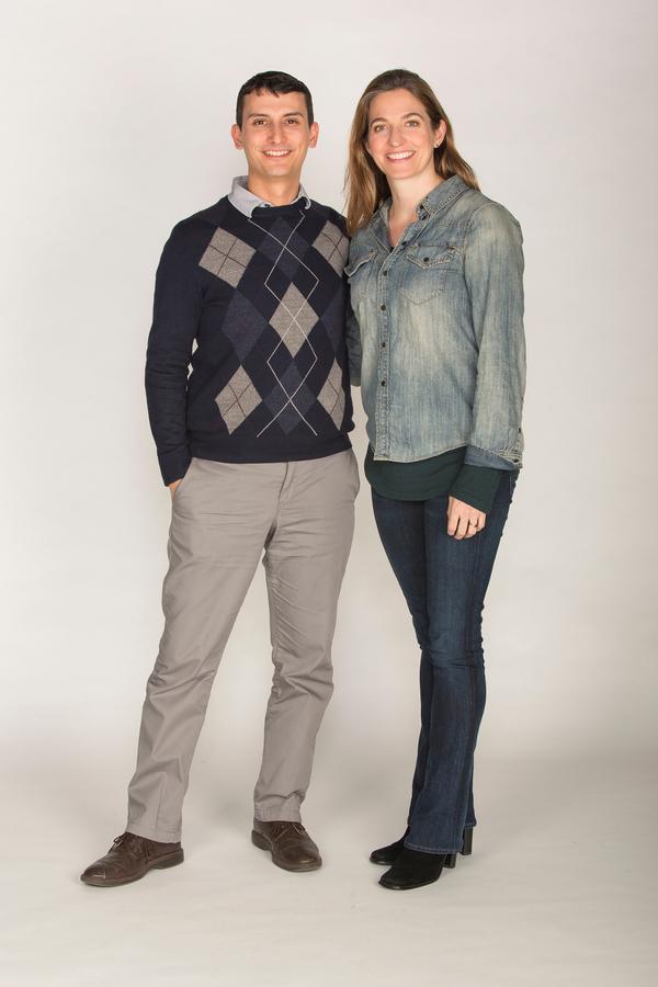 Nick Gandiello and  Gaye Taylor Upchurch Photo