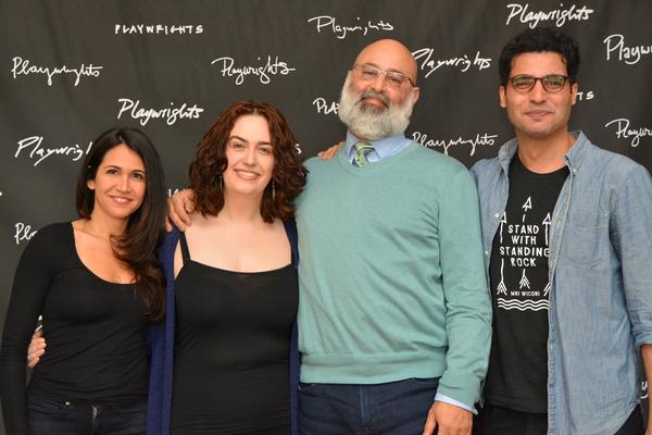 Francis Benhamou, Lanna Joffrey, Ramsey Faragallah and Babak Tafti