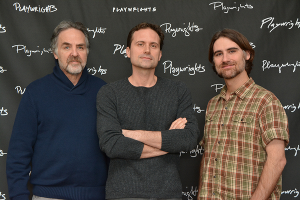 Tim Sanford (Artistic Director), Zayd Dohrn (Playwright) and Kip Fagan (Director)