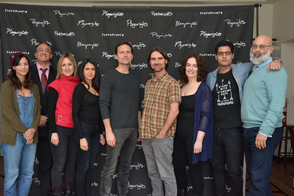 Photo Coverage: The Cast of Playwrights Horizons' THE PROFANE