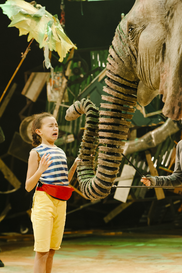 Photo Flash: First Look at Production Photos for the UK Tour of RUNNING WILD