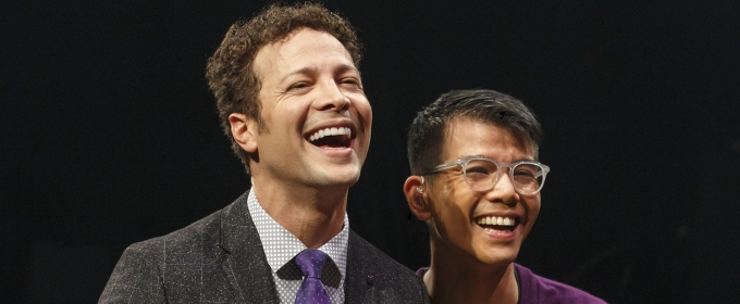 Exclusive Podcast: Half Hour Call w/ Chris King Welcomes IN TRANSIT Star, Justin Guarini