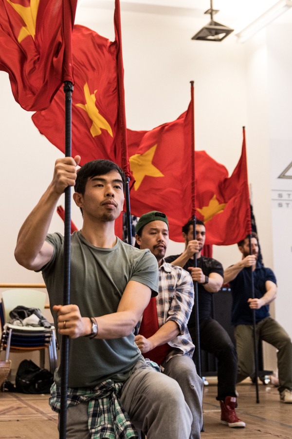 Photo Flash: Go Inside Rehearsals for MISS SAIGON's Broadway Return!