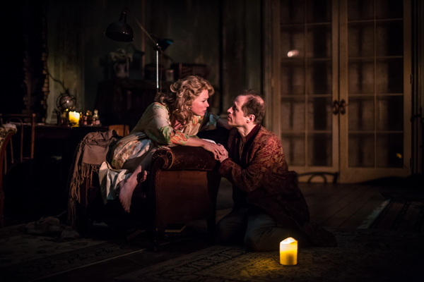 Kristen Bush (Yelena) and Tim Hopper (Vanya)