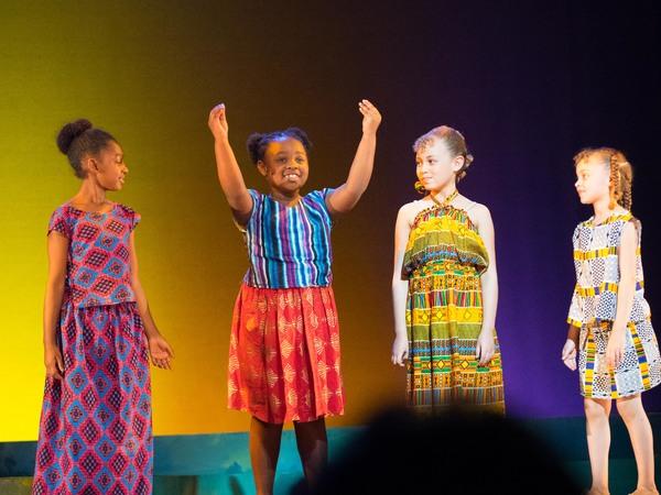 Inaya Reddick, Kayla Joy Smith, Kennedy Nibbe, and Mackenzie Nibbe Photo