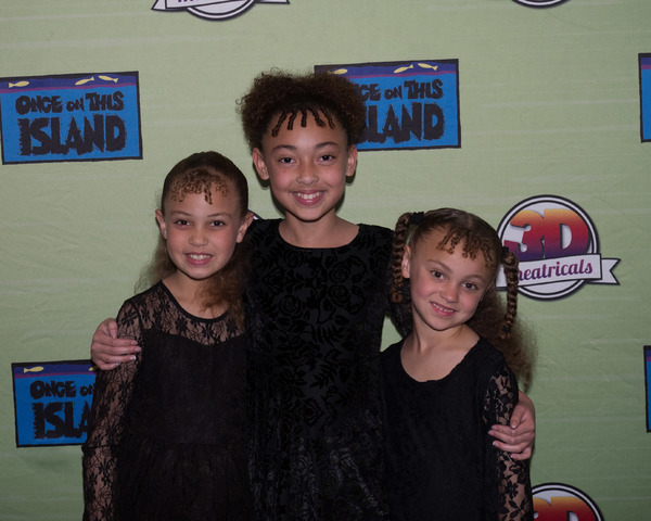 Photo Coverage: Curtain Call and Press Night Celebration of 3D Theatricals ONCE ON THIS ISLAND