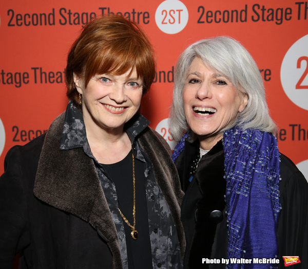 Blair Brown and Jamie deRoy