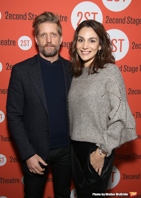 Paul Sparks and Annie Parisse
