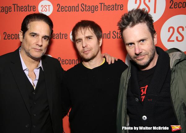 Yul Vazquez, Sam Rockwell and  Josh Hamilton