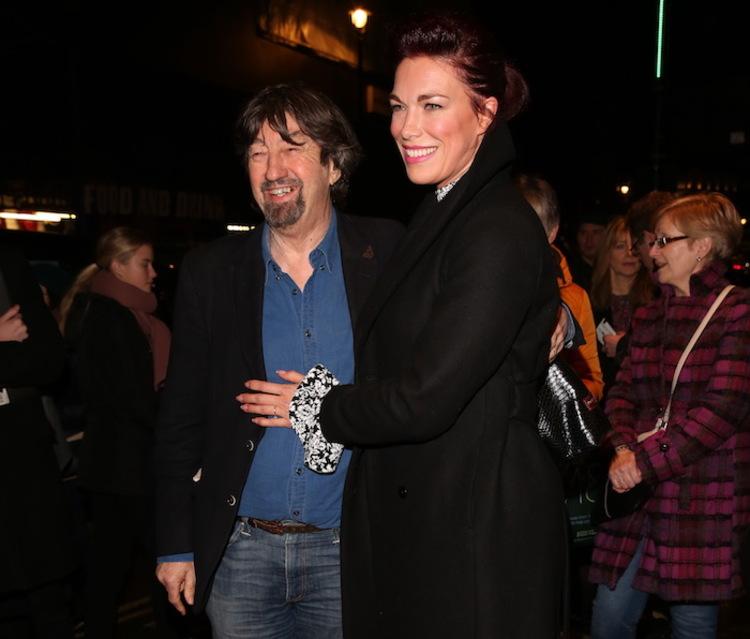 High Res Trevor Nunn and Hannah Waddingham