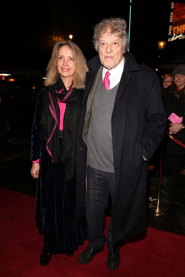 Sabrina Guinness and Tom Stoppard