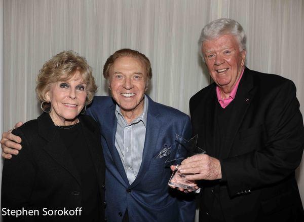 Sally Robinson, Steve Lawrence, Dick Robinson Photo