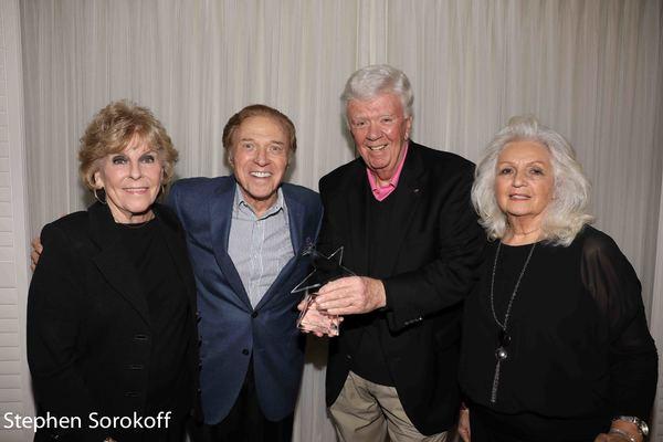 Sally Robinson, Steve Lawrence, Dick Robinson, Helen Spaneas Photo
