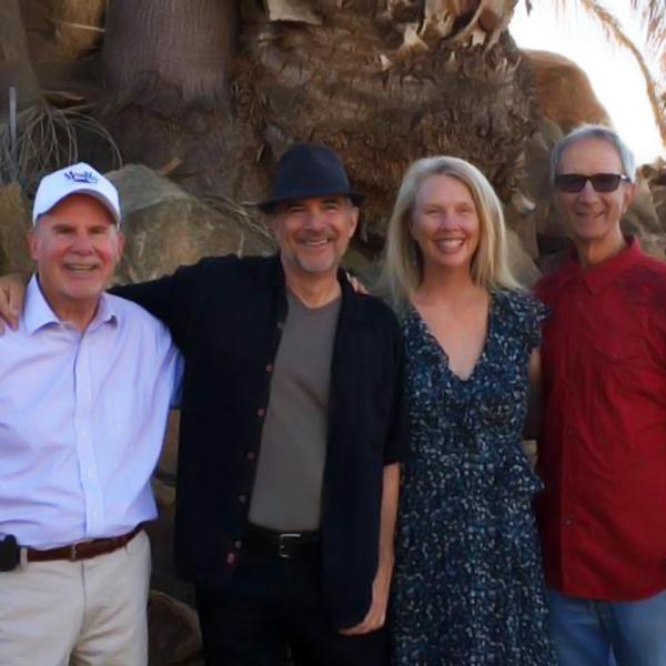 Ira Moskowitz, Robinson, Sally Tinker and Jeff Smith  Photo