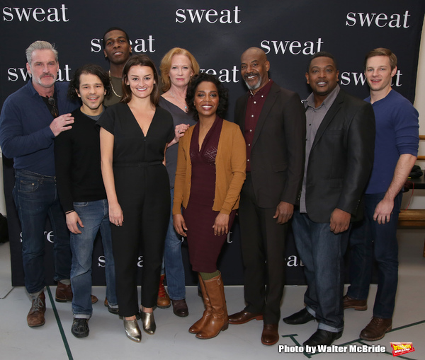 Photo Coverage: SWEAT Company Gets Ready for a Broadway Bow!