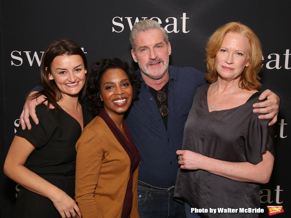 Alison Wright, Michelle Wilson, James Colby and Johanna Day