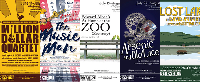 Gregg Edelman-Helmed ARSENIC AND OLD LACE, THE MUSIC MAN and More Set for BTG's Expanded 2017 Summer Season